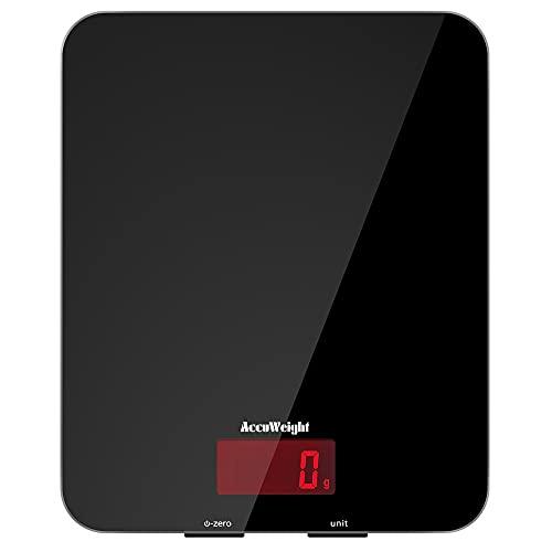 ACCUWEIGHT 201 Bascula Cocina 5 kg / 11 lbs Báscula...