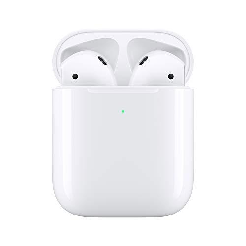 Apple AirPods con estuche de carga inalámbrica (2ª...