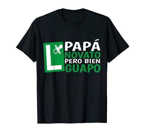 Hombre Papá en Prácticas Divertida Futuro Novato Anuncio...