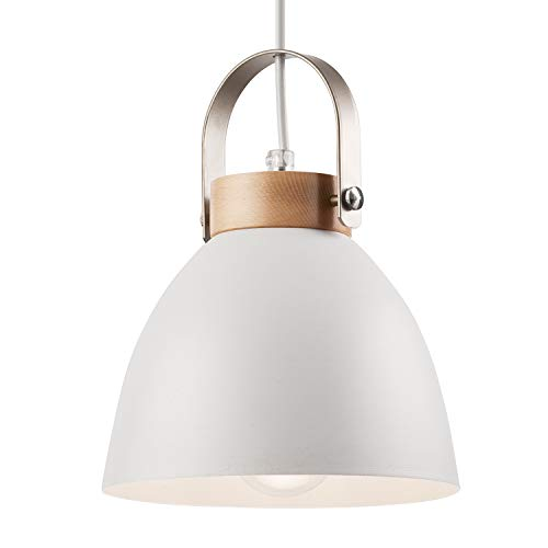 Lámpara colgante lámpara de techo lámpara de metal E27...