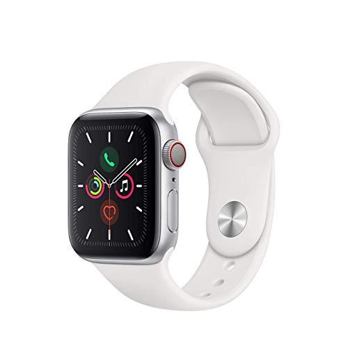 Apple Watch Series 5 (GPS+Cellular, 40 mm) Aluminio en...