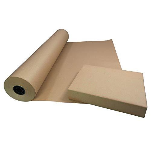 Triplast - Rollo de papel kraft ecológico (750 mm x 100 m,...
