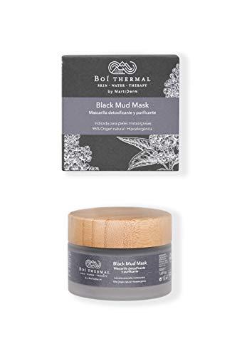 Boí Thermal Black Mud Mask. Mascarilla Facial Detoxificante...