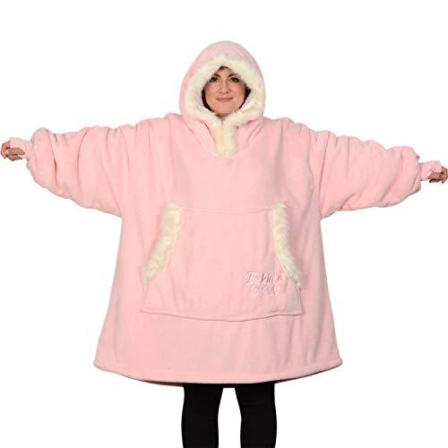 Snug Rug The Eskimo - Manta sudadera con capucha, de forro...