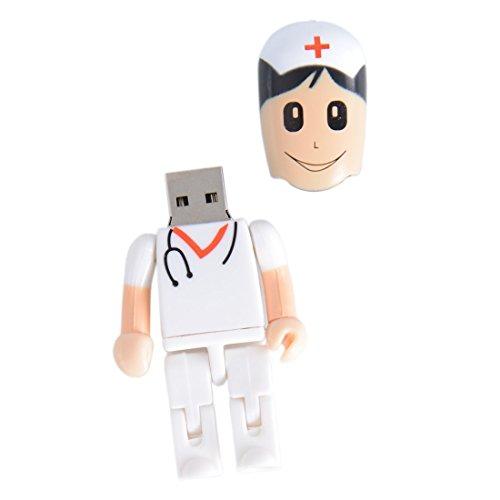 Shooo 8GB Creative Plastic Female enfermera USB 2.0 unidad...