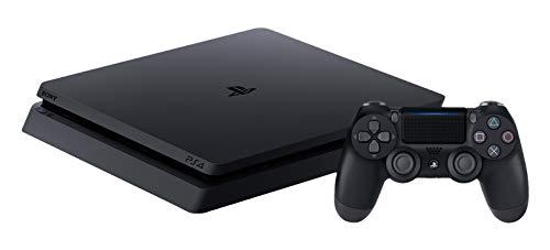 PlayStation 4 Slim (PS4) - Consola de 500 GB Chasis F, Negro