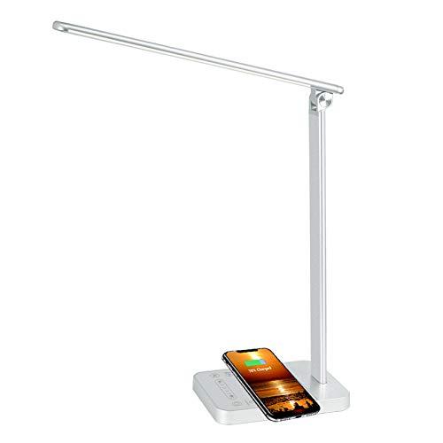 Lámpara Escritorio LED 6 Niveles de Brillo Regulable...