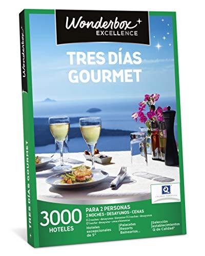 WONDERBOX Caja Regalo - Tres DÍAS Gourmet - Dos Noches con...