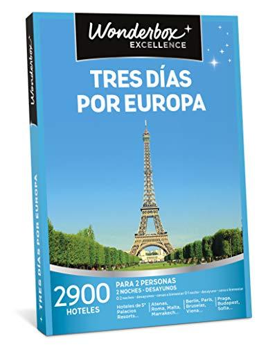 WONDERBOX Caja Regalo - Tres DÍAS por Europa - Dos Noches...