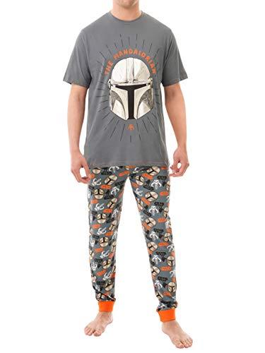Star Wars Pijamas para Hombre The Mandalorian Multicolor...