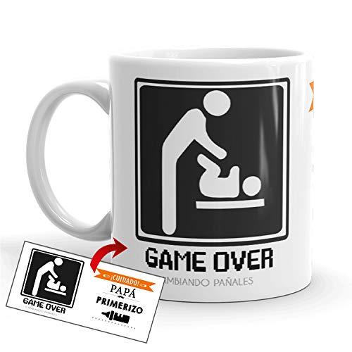 Kembilove Taza de Café Padre ¡Cuidado! Papá Primerizo –...