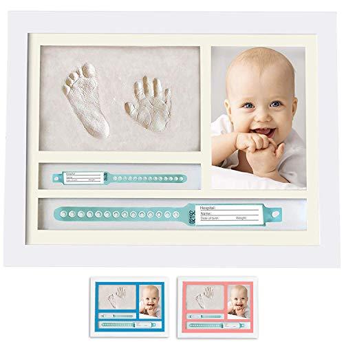 MUBY, Set de marco de foto y huellas bebe | Regalos...