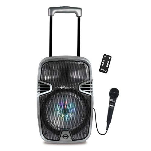 Lexibook Iparty - Altavoz Luminoso Bluetooth con Asa y...