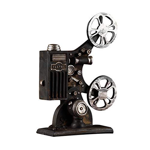 VOSAREA Proyector de Cine Modelo Vintage Estilo Escritorio...