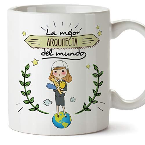 MUGFFINS Arquitecta Tazas Originales de café y Desayuno...