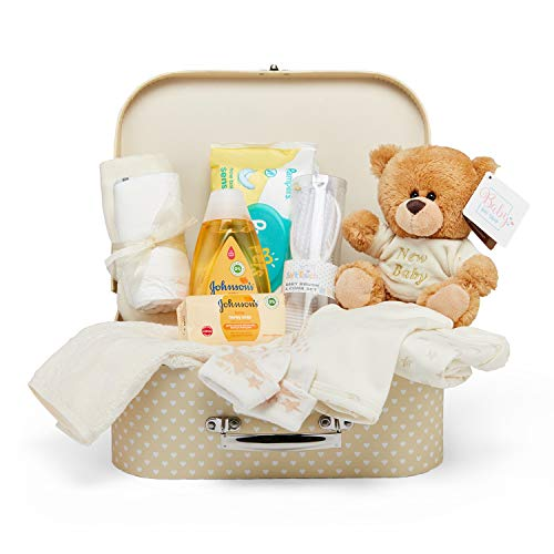 Baby Gift Set - Neutral Hamper Full of Baby Products in...