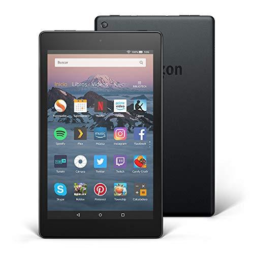 Tablet Fire HD 8 | Pantalla HD de 8 pulgadas, 16 GB, negro,...