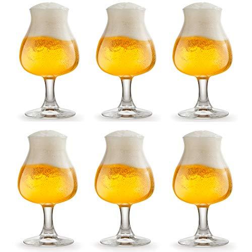 Libbey Vaso de Cerveza Iseo - 26 cl / 260 ml - 6 Unidades -...
