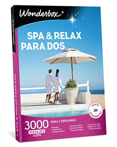 WONDERBOX Caja Regalo para mamá -SPA & Relax para Dos-...