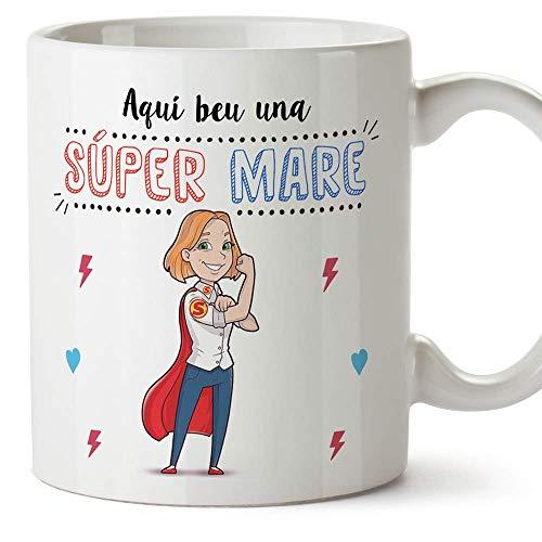 MUGFFINS Taza Mamá (En Catalán) -'Aquí beu una Súper...