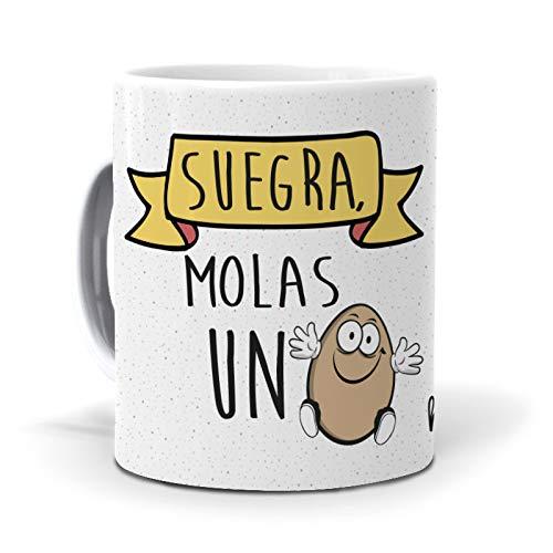 Taza Suegra, molas un Huevo