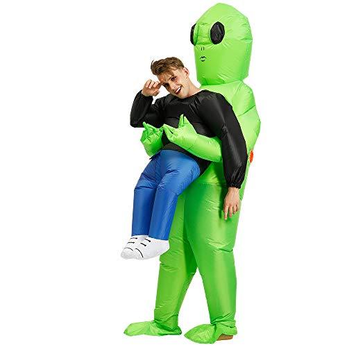 Zi Xi & Zi Qi Disfraz Inflable Extraterrestre Disfraces...