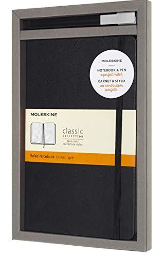 Moleskine - Set de Escritura con Cuaderno y Bolígrafo...