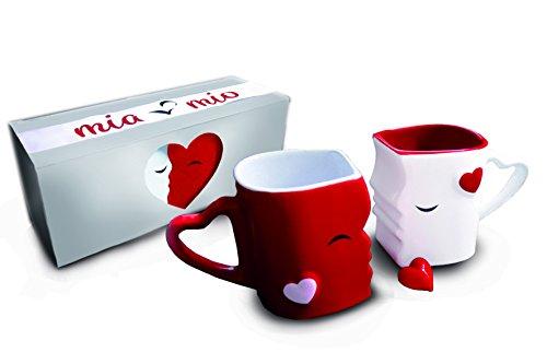 MIAMIO - Tazas de Café/Tazas de Besos Set/Regalo para...