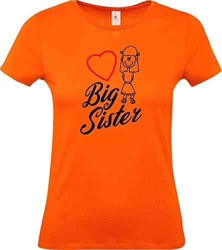 Shirtstown Lady Camiseta, Big Sister Grandes Hermana -...