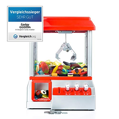 Gadgy ® Candy Grabber con Boton Silencio | Maquina de Garra...