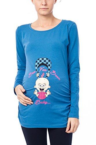 Vendido por MamiMode See You Soon – Camiseta de maternidad...