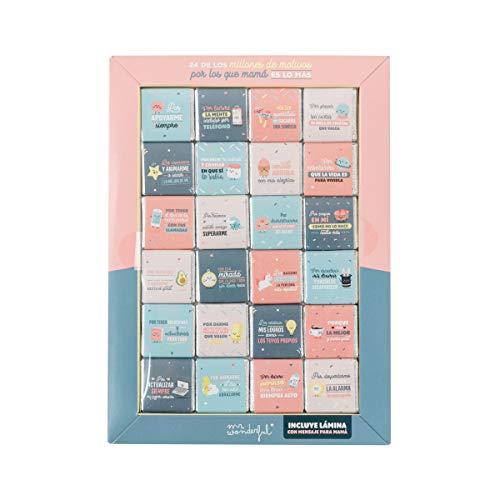 Mr. Wonderful WOA10022ES Chocolatinas - 24 Motivos por los...