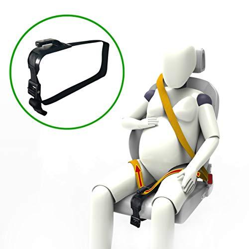 ZUWIT Ajustador de cinturón de Seguridad para Mujeres...