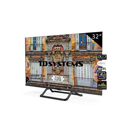 TD Systems Televisor Smart TV Android 9.0 y HBBTV, 800 PCI...
