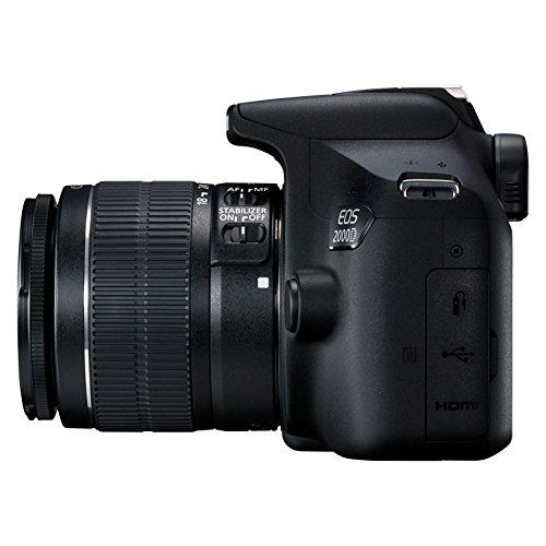 Canon EOS 2000D - Cámara réflex de 24.1 MP (CMOS, Escena...