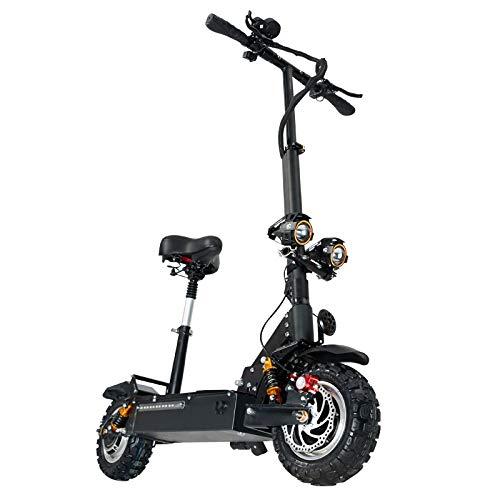 GUNAI Patinete Electrico Adulto Scooter Plegable Todoterreno...