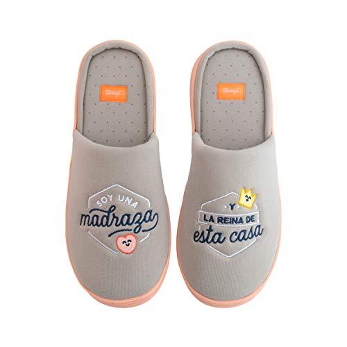 Mr.Wonderful Zapatillas de casa, Multicolor, Unico