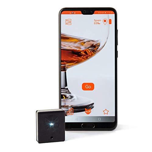 Alcoholímetro de bolsillo Alcocat para su Smartphone -...