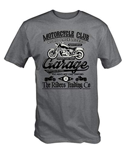 Camiseta del club de motociclismo