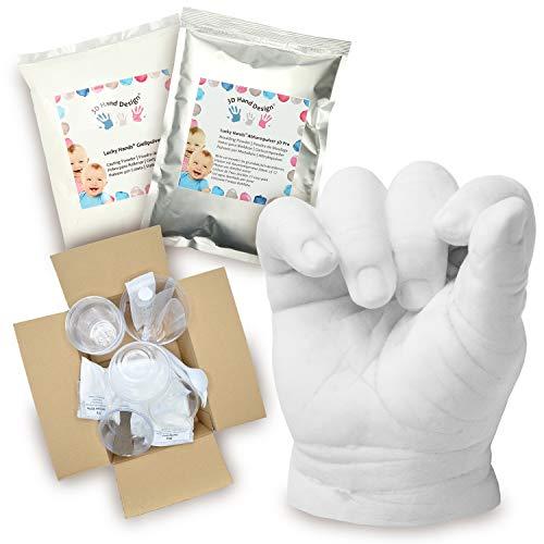 Lucky Hands® Huellas en 3D   Improntas mano   Idea de...