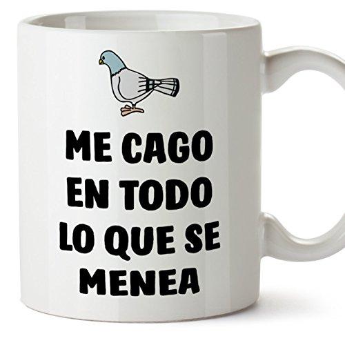 MUGFFINS Tazas Desayuno Originales con Frases motivadoras...