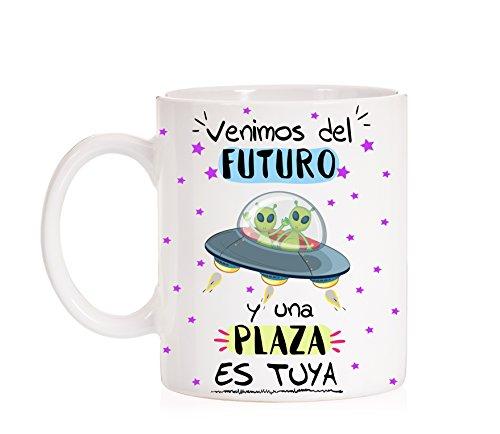 FUNNY CUP Taza Opositor Venimos del Futuro y una Plaza es...