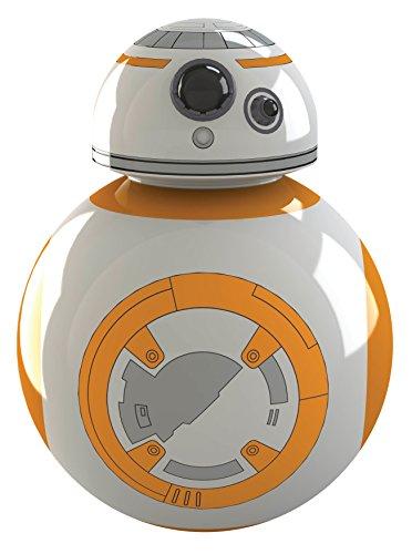 Star Wars Cortador de Pizza BB-8, Color Blanco/Naranja, 8 x...