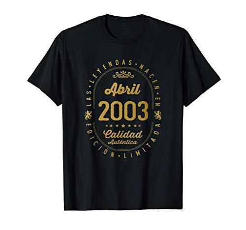 18 años Cumpleaños - Las Leyendas nacen en Abril de 2003...