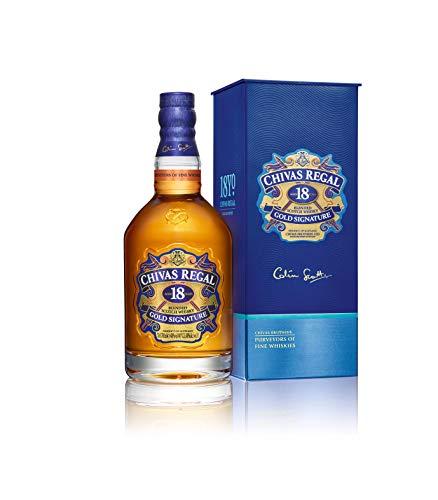 Chivas Regal 18 Años Whisky Escocés de Mezcla Premium,...