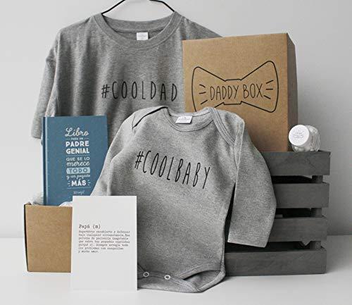 Caja regalo papá y bebé - Daddy Box - Regalo original para...