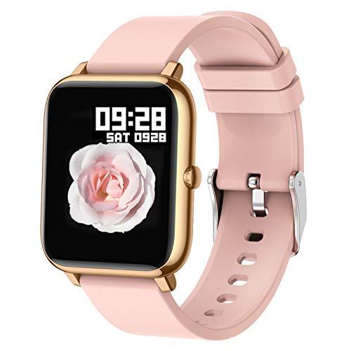 Popglory Smart Watch, Reloj Inteligente con Oxígeno...