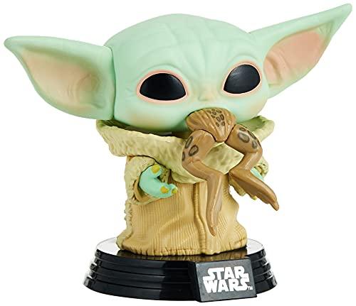 Pop! Star Wars:The Mandalorian- The Child w/Frog