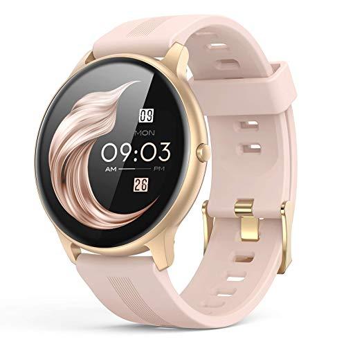 Smartwatch Mujer, AGPTEK Reloj Inteligente Deportivo 1.3...