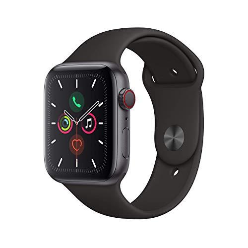 Apple Watch Series 5 (GPS+Cellular, 44 mm) Aluminio en...